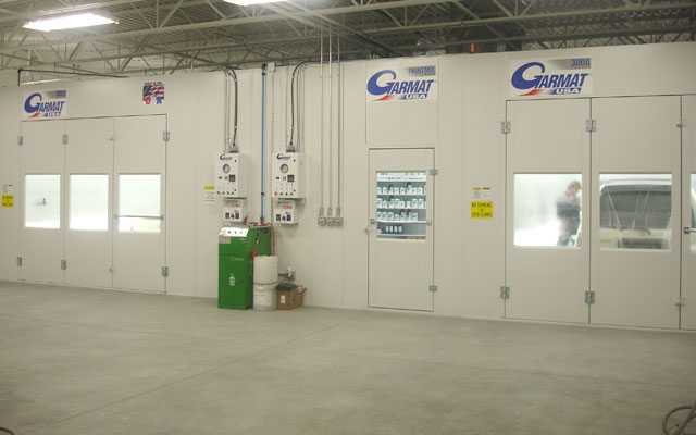 Garmat 3000 paint spray booth
