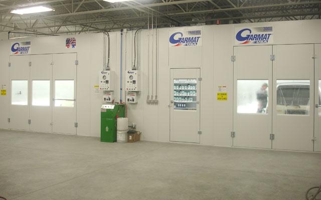Garmat 3000 paint spray booth