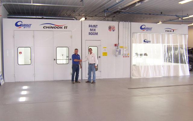 Garmat Chinook II paint spray booth