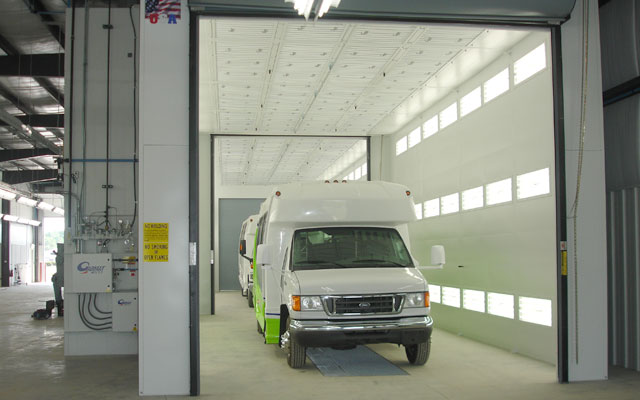 Garmat large truck and industrial spray booth